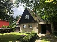 Chata k pronájmu - dovolená  Olešský rybník rekreace Růžová
