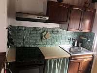 Kuchyňský kout - chata k pronajmutí Růžová