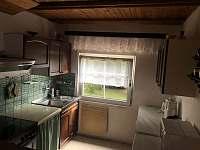 Kuchyňský kout - chata k pronájmu Růžová