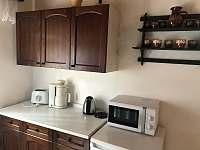 Kuchyňský kout - pronájem chaty Růžová