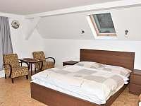 Ložnice pro 2 osoby v 1.patře - chata k pronájmu Dolní Poustevna - Karlín