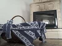 obývací pokoj krb - Krásný Buk