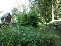 pohled na říčku Křinici - chalupa ubytování Dlouhý Důl - Kyjov