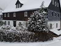 Chalupa Brtnička v zimě