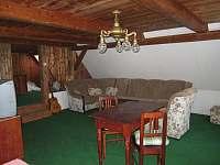pokoj s koupelnou - chalupa k pronajmutí Horní Podluží