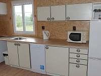 Kuchyně - pronájem chaty Rynartice