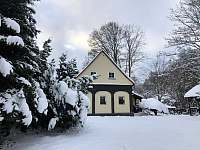 Zima 2021 - chalupa k pronájmu Chřibská