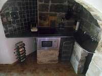 kuchyně - pronájem chalupy Dolni Chřibska