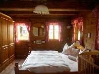 ložnice - chalupa k pronajmutí Dolni Chřibska