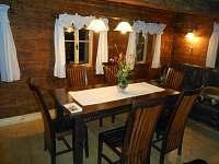 obývací pokoj - chalupa ubytování Dolni Chřibska