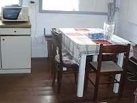 Kuchyně - pronájem chalupy Doubice