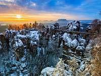Bastei - výlety do okolí - Kunratice - Studený