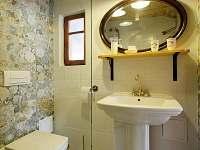 koupelna Amedeo - ubytování Krásné Pole - Chřibská