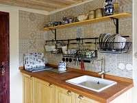 kuchyně - ubytování Krásné Pole - Chřibská