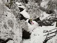 Chata Kyjov Zima 2 - Krásná Lípa - Kyjov