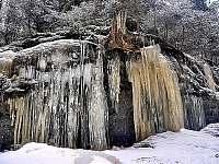 Brtnické ledopády - Dolní Chřibská