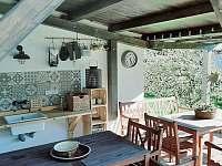 Venkovní kuchyň - Dolní Chřibská