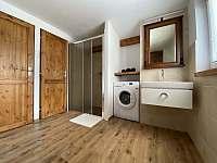 Koupelna - chalupa k pronajmutí Krásná Lípa u Rumburka
