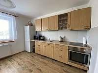 Kuchyně - chalupa ubytování Krásná Lípa u Rumburka