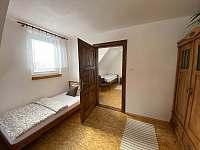 Ložnice č.3 - pronájem chalupy Krásná Lípa u Rumburka