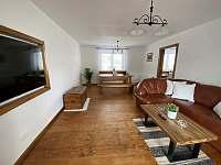 Obývací pokoj - chalupa ubytování Krásná Lípa u Rumburka
