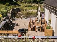 Venkovní terasa s grillem - Krásná Lípa - Kamenná Horka