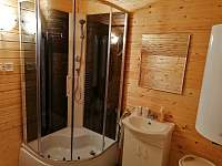 Apartmán 1 koupelna s WC - chalupa ubytování Brtníky