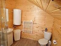 Apartmán 1 koupelna s WC - chalupa k pronajmutí Brtníky