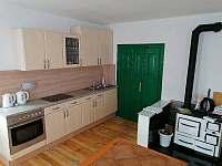 Apartmán 1 kuchyň - chalupa k pronájmu Brtníky