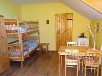 4 lůžkové apartmá (2 pokojové) 1 - Růžová
