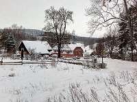 Zimní Krajina Pod Lípou