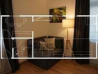 Apartmán č.3 - Krásná Lípa