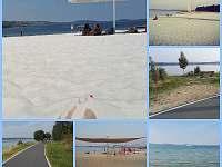 Krásná pláž + cyklostezka 60 km.