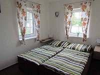 Apartmán přízemí - Ložnice s dvoulůžkem a vlastní TV