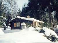 chata Kytlice zima - ubytování Kytlice - Falknov