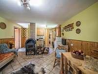interiér chaty - ubytování Kytlice - Falknov