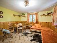 interiér chaty - k pronajmutí Kytlice - Falknov
