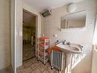 koupelna - chata k pronajmutí Kytlice - Falknov