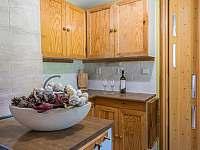 kuchyňský kout - pronájem chaty Kytlice - Falknov