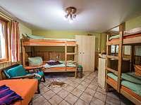 ložnice - chata ubytování Kytlice - Falknov