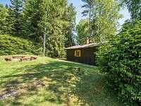 zahrada - pronájem chaty Kytlice - Falknov