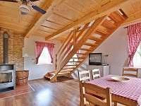 Interier chaty Saša - ubytování Dolní Chřibská