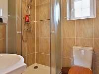Interier chaty Saša_koupelna - k pronájmu Dolní Chřibská