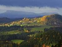 Výhled z Rynartic - Dolní Chřibská