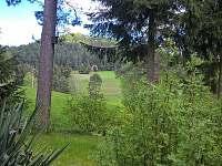 Výhled před chatou