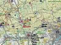 Výlety v okolí Chaloupky, veřejná i tajemná místa :-)