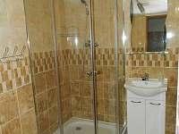 koupelna se sprchovým koutem a WC - apartmán k pronajmutí Rumburk