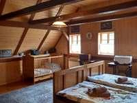 ložnice č. 1 - chalupa k pronajmutí Jetřichovice