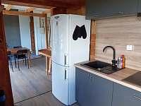 Velký apartmán - kuchyň - pronájem chaty Jedlová