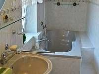 Apartmán - koupelna - Jiřetín pod Jedlovou